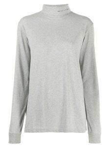 1017 ALYX 9SM long sleeve roll neck jumper - Grey