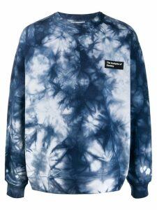 Acne Studios tie dye oversized sweatshirt - Blue