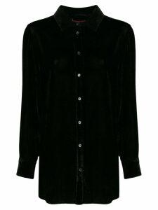 Sies Marjan Sander fluid corduroy shirt - Black