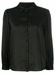 Masscob striped Mae shirt - Black