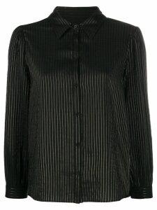 Masscob striped Mae shirt - Black