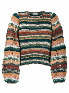 Ulla Johnson Electra knitted jumper - PINK