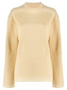 Acne Studios relaxed fit jumper - NEUTRALS