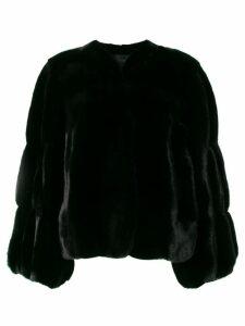 Liska long-sleeve jacket - Black