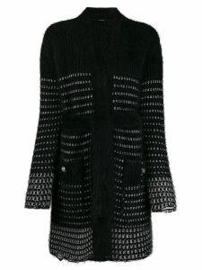 Balmain long cardigan - Black