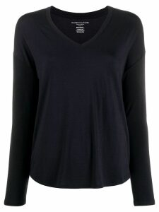 Majestic Filatures jersey knit long-sleeve top - Blue