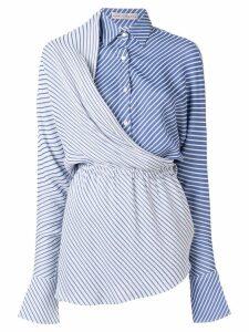 Palmer / Harding Mirror layered shirt - Blue