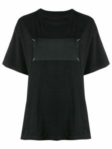 Maison Margiela signature stitch T-shirt - Black