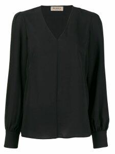 Blanca Vita V-neck blouse - Black