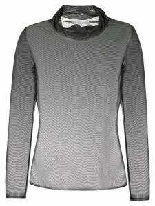 Fabiana Filippi sheer blouse - Grey