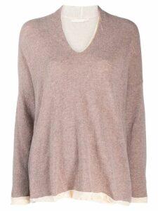 Elsa Esturgie Broussaille sweater - PINK
