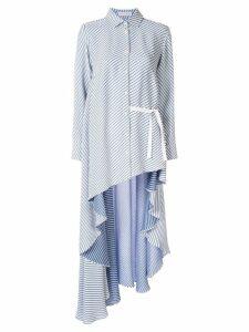 Palmer / Harding Super longline shirt - White