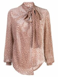 Petar Petrov pussy bow blouse - PINK