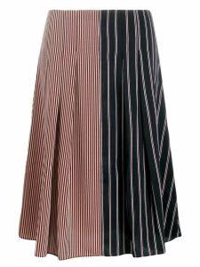 PS Paul Smith a-line striped shirt - Blue
