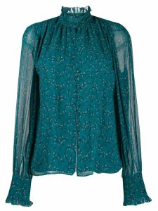 Jonathan Simkhai floral print shirt - Blue