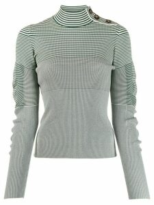 Cédric Charlier striped jumper - Green