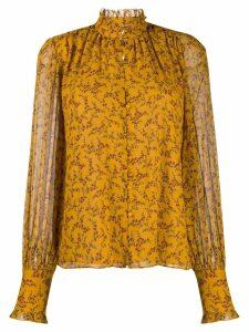 Jonathan Simkhai floral print shirt - Yellow