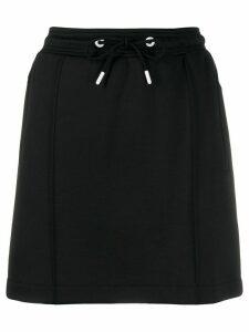 Kenzo logo stripe skirt - Black