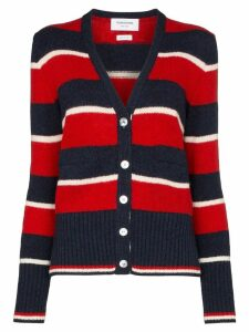 Thom Browne striped button-front cardigan - Multicolour