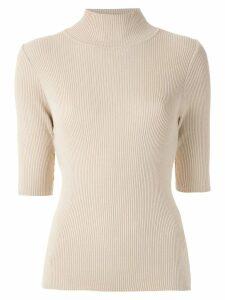 Uma Raquel Davidowicz Tudor knit blouse - NEUTRALS