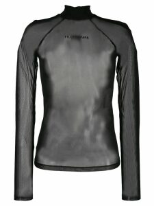Filles A Papa turtleneck top - Black