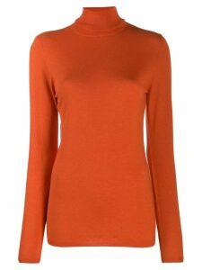 Snobby Sheep Greta turtleneck jumper - Orange