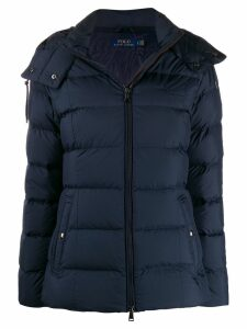 Polo Ralph Lauren hooded puffer jacket - Blue