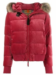 Parajumpers faux fur trimmed jacket - Pink