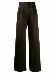 Fendi jersey tailored trousers - Brown