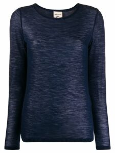 Semicouture fine knit sweater - Blue