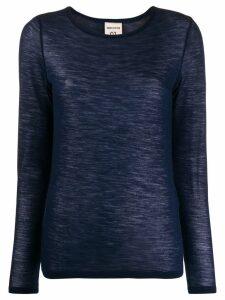 Semicouture fine knit sweater - Blue