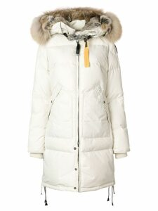 Parajumpers Long Bear coat - White