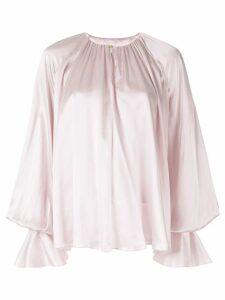 Roksanda bell-sleeved blouse - PINK