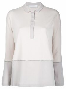 Fabiana Filippi contrast polo top - Neutrals