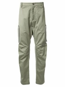 Makavelic technical cargo trousers - Green