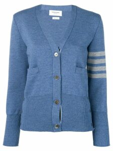 Thom Browne 4-Bar Milano Cardigan - Blue