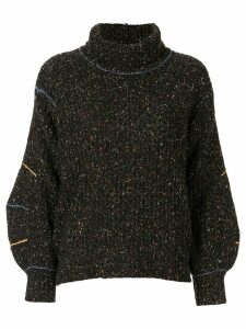 Toga turtle neck jumper - Black
