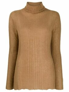 Roberto Collina roll neck sweater - Brown