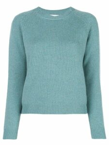 Alexandra Golovanoff knitted sweatshirt - Green