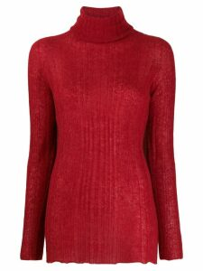 Roberto Collina roll neck sweater - Red