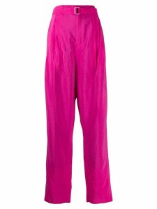 Lemaire belted waist trousers - PINK