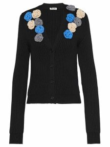 Miu Miu Wool cardigan - Black