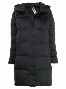 Mammut hooded padded coat - Black