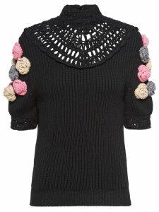 Miu Miu Wool pullover - Black