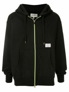 Makavelic Luminous zip hoodie - Black
