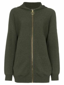 Sweaty Betty Assemble knitted hoodie - Green