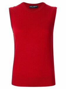 Dolce & Gabbana slim fit tank top - Red