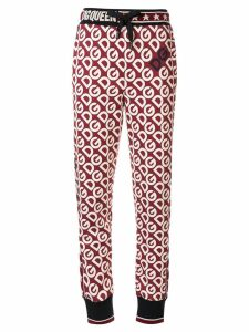 Dolce & Gabbana logo track pants - Red