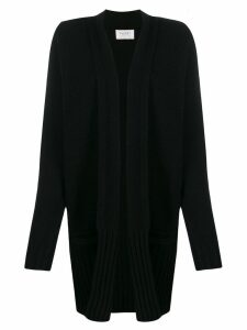 Snobby Sheep ribbed hem cardigan - Black