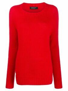 Aragona crew neck sweater - Red
